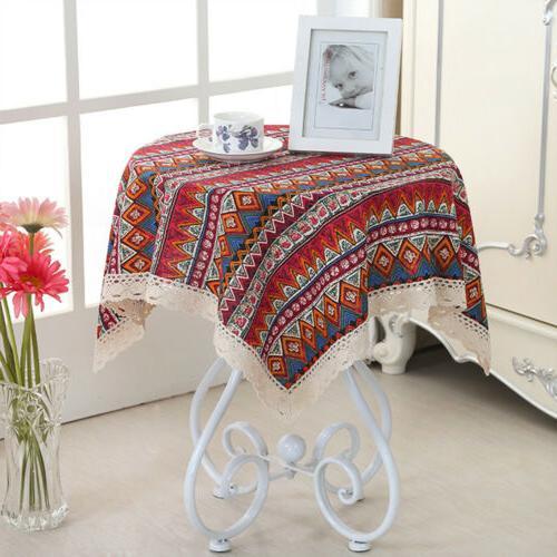 Bohemian Soft Cotton Stripe Cover Linen Home Party