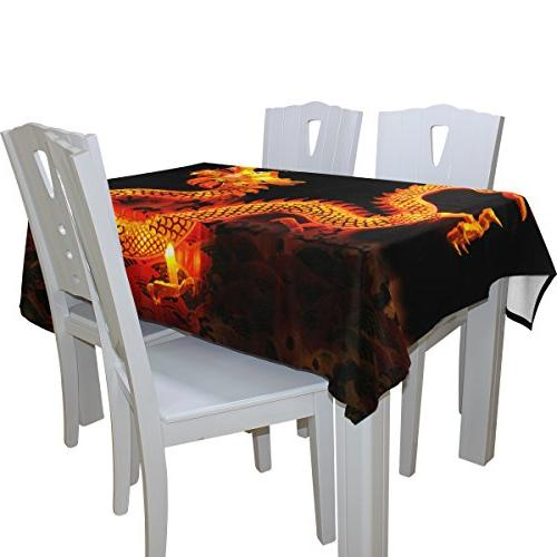 ALIREA Lantern for Party Holidays Table Cloth 54 x 54