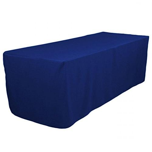 rectangle polyester table cover fitted