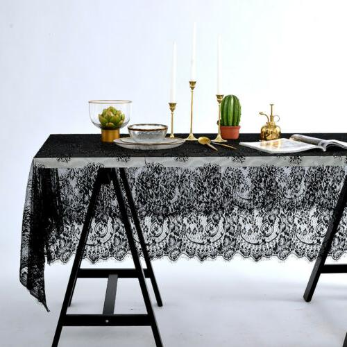 Rectangle Square Lace Cloth Home Party Wedding Decor US