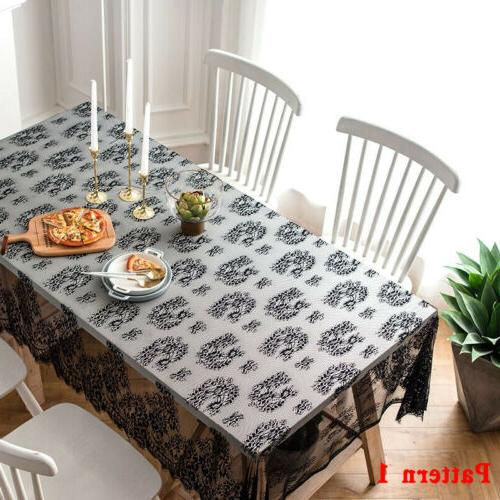 Rectangle Lace Cloth Party