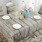 Rectangle Table Cover Cotton Linen Kitchen Dinning Tableclot