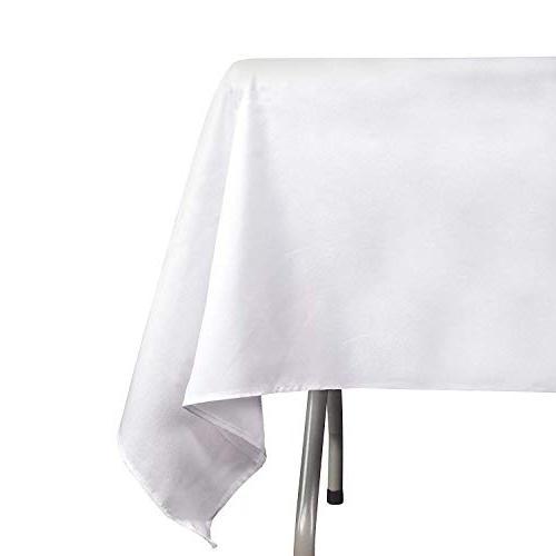 rectangle tablecloth polyester banquet wedding