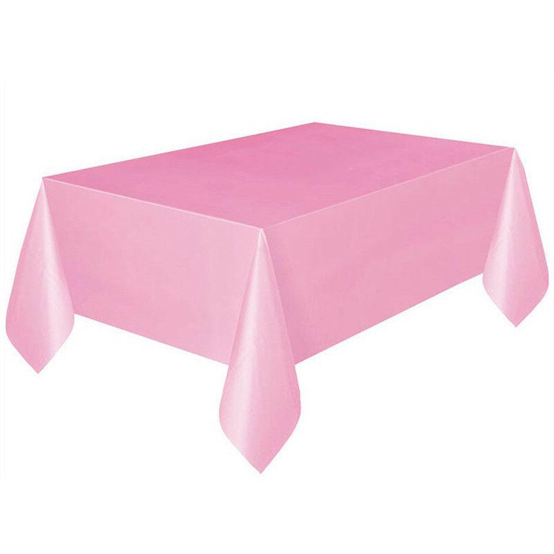 Rectangle Tablecloth Table Satin for Party Decor