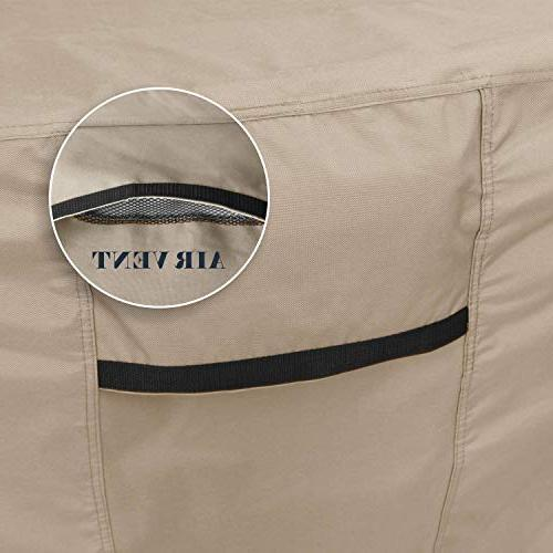 ULTCOVER Square/Round Patio Duty Tough Waterproof & 94