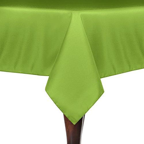rectangular polyester linen tablecloth