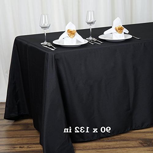 rectangular polyester tablecloth