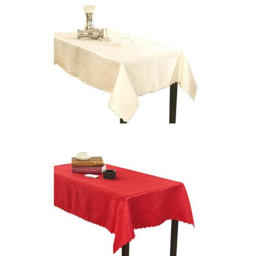 Rectangular Dining Table Cover Hotel