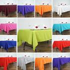 RECTANGULAR Polyester Tablecloths Restaurant Catering Home W