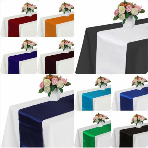 Table with Table Runner&Chair Sashes Table UR