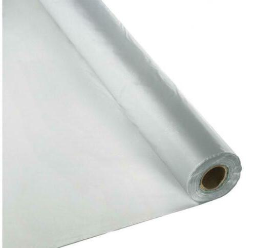 Creative Converting Roll Plastic Table Cover, 100-Feet, Shim