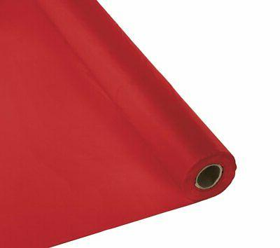 """Creative Expressions 36"""" x 100' Plastic Tablecover, Classic"""