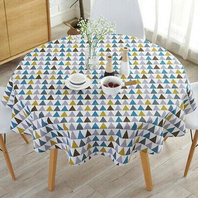 Round Tablecloths Table Cloth Wedding Holiday Home Use