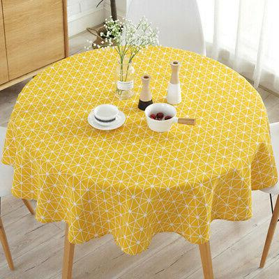 Round Cloth Party Holiday Home