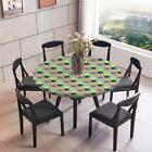 Round Table Cover Tablecloth for In/Outdoor Dining Wedding P