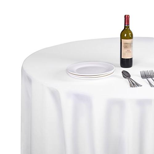 round tablecloth polyester banquet wedding