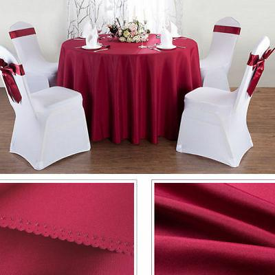 Round Tablecloth Cover Kitchen Wedding Party Hotel