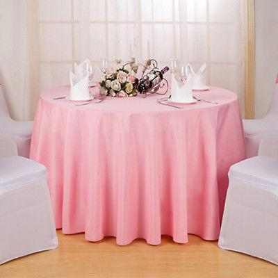 Round Tablecloth Table Cover Kitchen Dinning Hotel Table