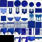 Royal Blue Party Table Wear Summer Fiesta Beach, BBQ, Birthd