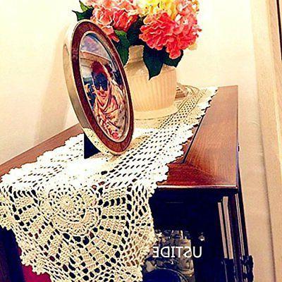 Ustide Rustic Runners Handmade Crochet