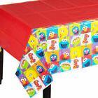 SESAME STREET Elmo Turns One PLASTIC TABLE COVER ~ Birthday