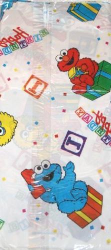 "Sesame Street ""1st Happy Birthday"" Plastic Table Cover"