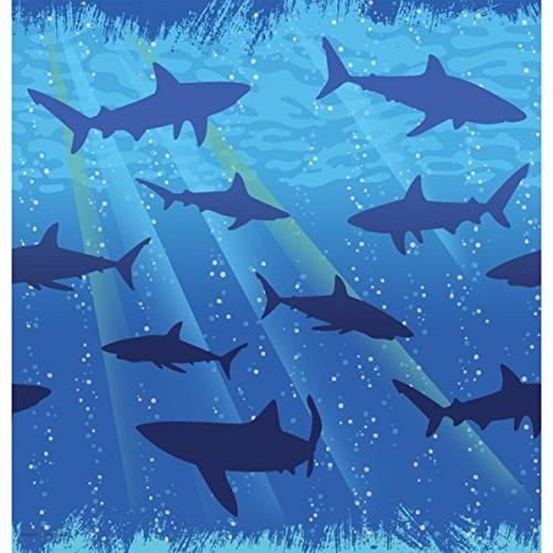 shark splash tablecover plastic