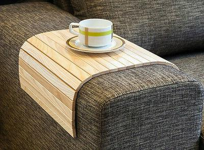 sofa tray table natural wood coffee table