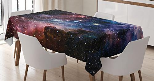 space decorations tablecloth