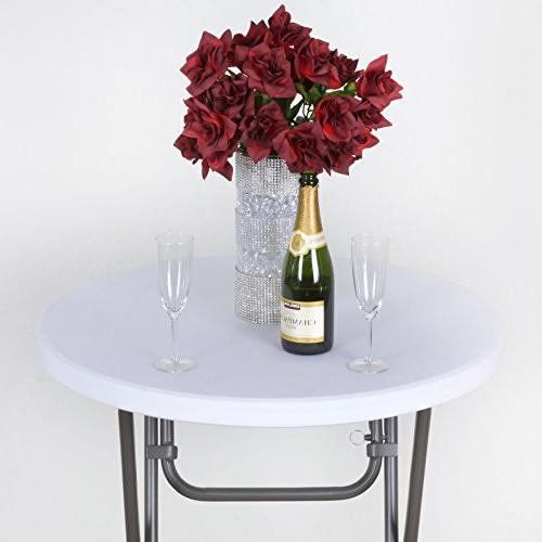 spandex cocktail table cover