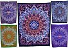 Star Mandala Cotton Table Cover Small Tapestry Ethnic Indian