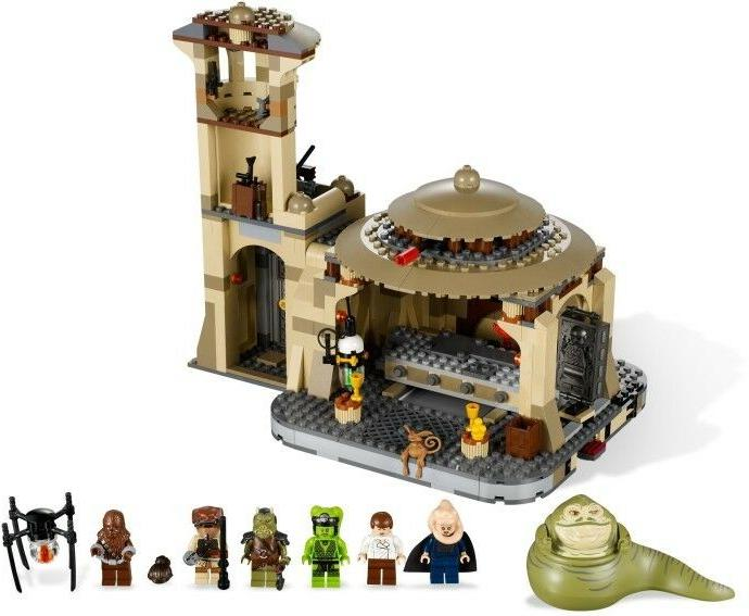 LEGO STAR JABBA'S PALACE RETIRED OF THE