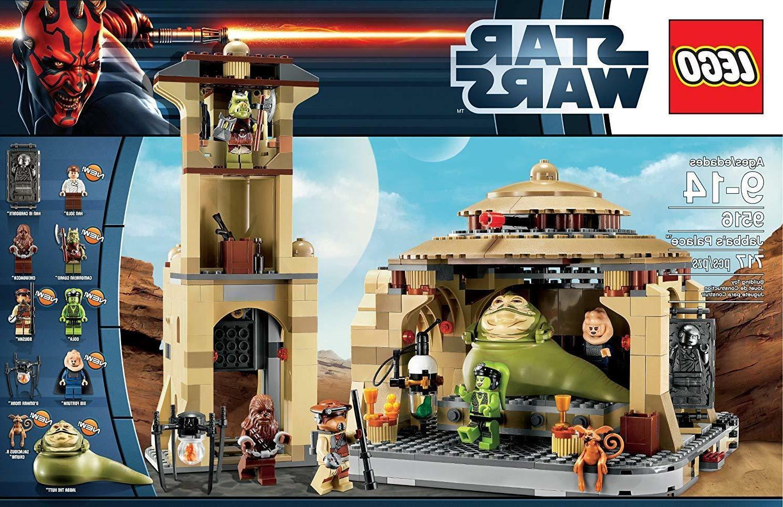 star wars jabbas palace 9516 new nisb