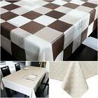 Table Cloth Cover Waterproof Tablecloth Vinyl Elegant Spillp