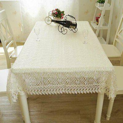table cloth european lace cloth coffee table