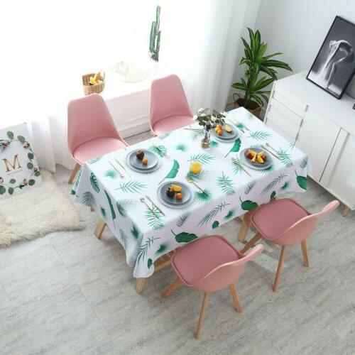 Table Cloth PVC Rectangle Table Cover