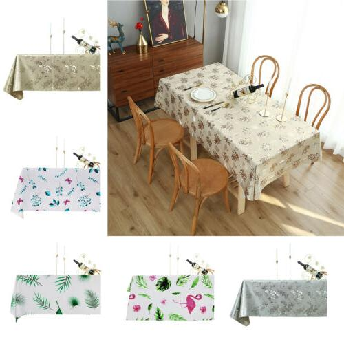 Table Cloth Waterproof Rectangle