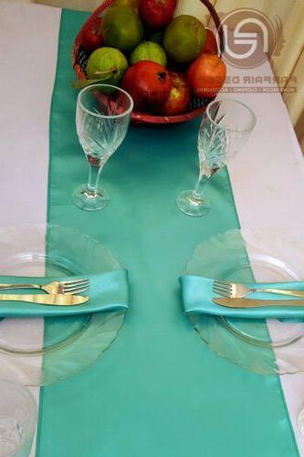 Table Runner&Chair Sashes Wedding Table SET UR