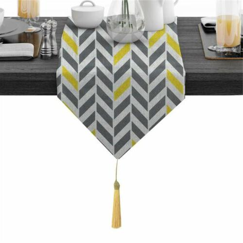 Table Runner Tablecloth Cotton Dining Table