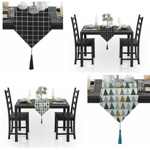 Table Tassels Tablecloth Linen Table