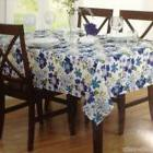 "TABLECLOTH 70"" ROUND FABRIC FLORAL TABLE CLOTH 100% POLESTER"