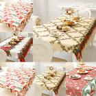 Tablecloth Dining Kitchen Table Cover Cloth Protector Polyes