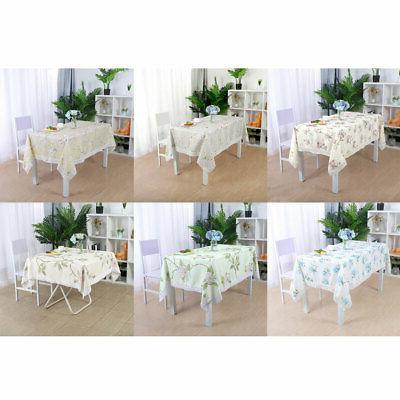 tablecloth polyester table cover oil stain water