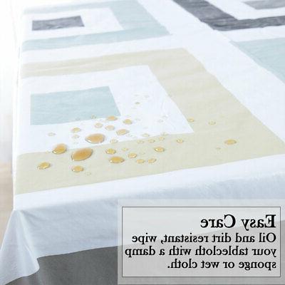 Tablecloth Vinyl Resistant
