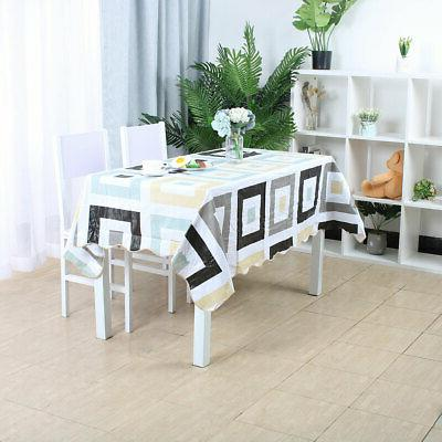 Tablecloth PVC Cover Resistant