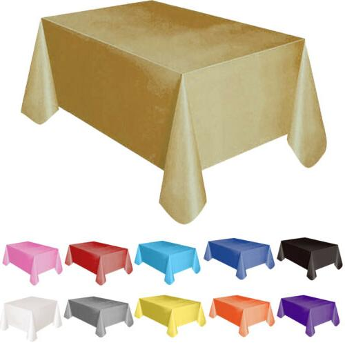 Tablecloth Table Cover Rectangle Party Wedding Tableware The