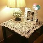 yazi Tablecloths Crochet Square Table Cover Lace Covering Do