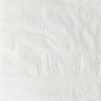 """Hoffmaster Tablecover, Tissue/Poly Lined, 54 in x 108"""", 25/C"""