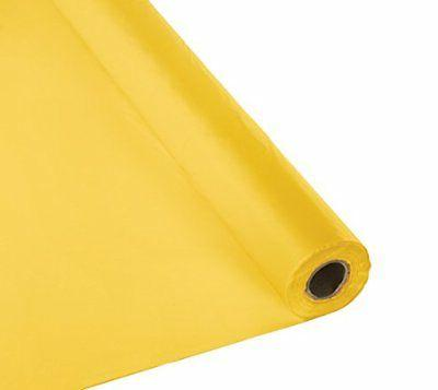 touch of color banquet roll plastic table