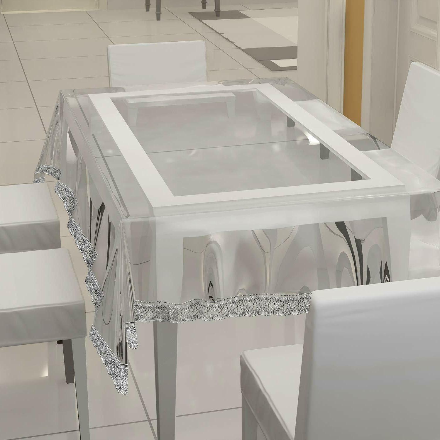transparent waterproof table cover 2 to 4